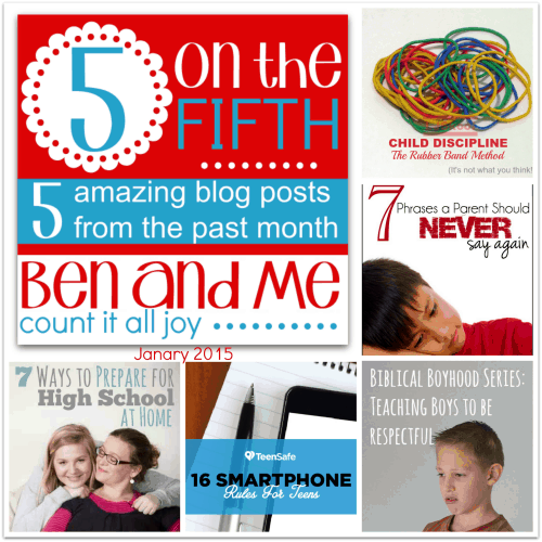 5 on the Fifth — Favorite Blog Posts January 2015