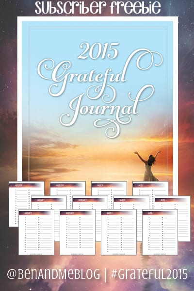 2015 grateful journal subscriber freebie