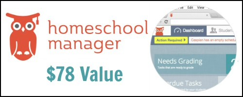 Homeschool Manager Giveaway