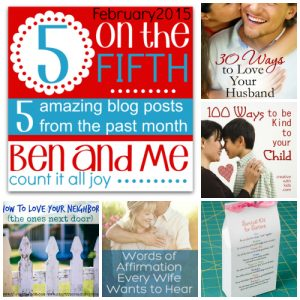 5 on the Fifth Favorite Blog Posts February 2015