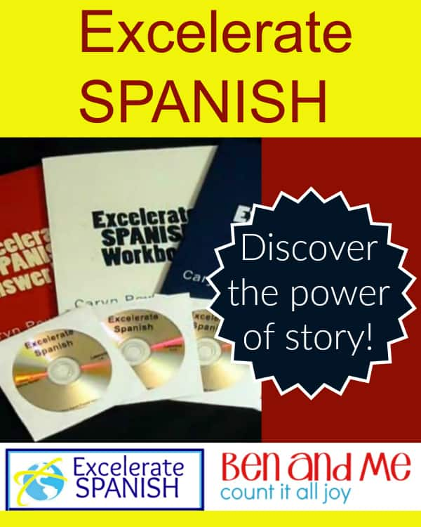 Excelerate Spanish Homeschool Curriculum