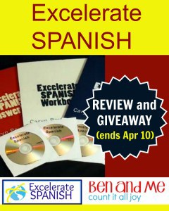 Excelerate Spanish Review and Giveaway
