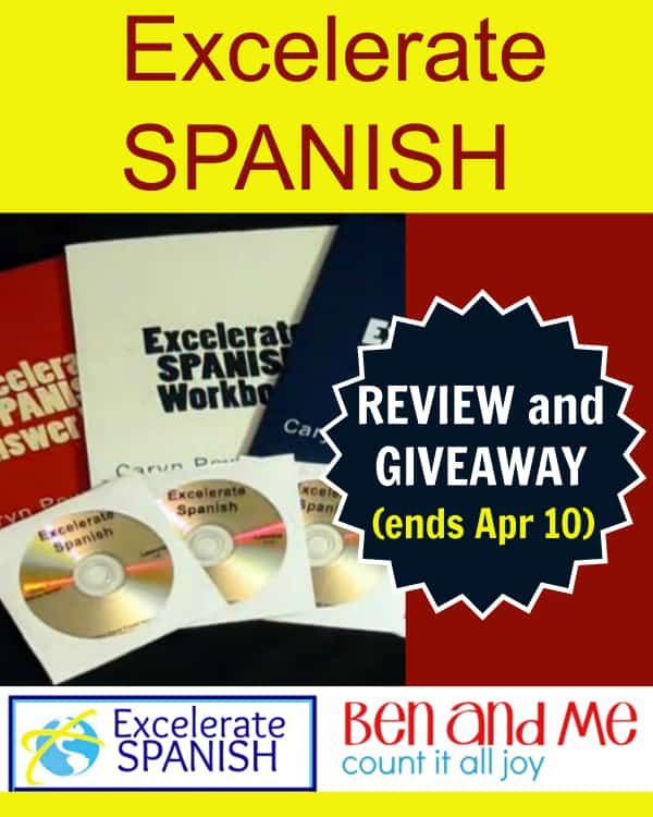 Excelerate Spanish Giveaway