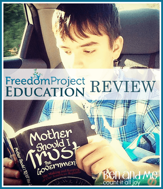 Review: Mother Should I Trust The Government? (FreedomProject Education Classical Curriculum)