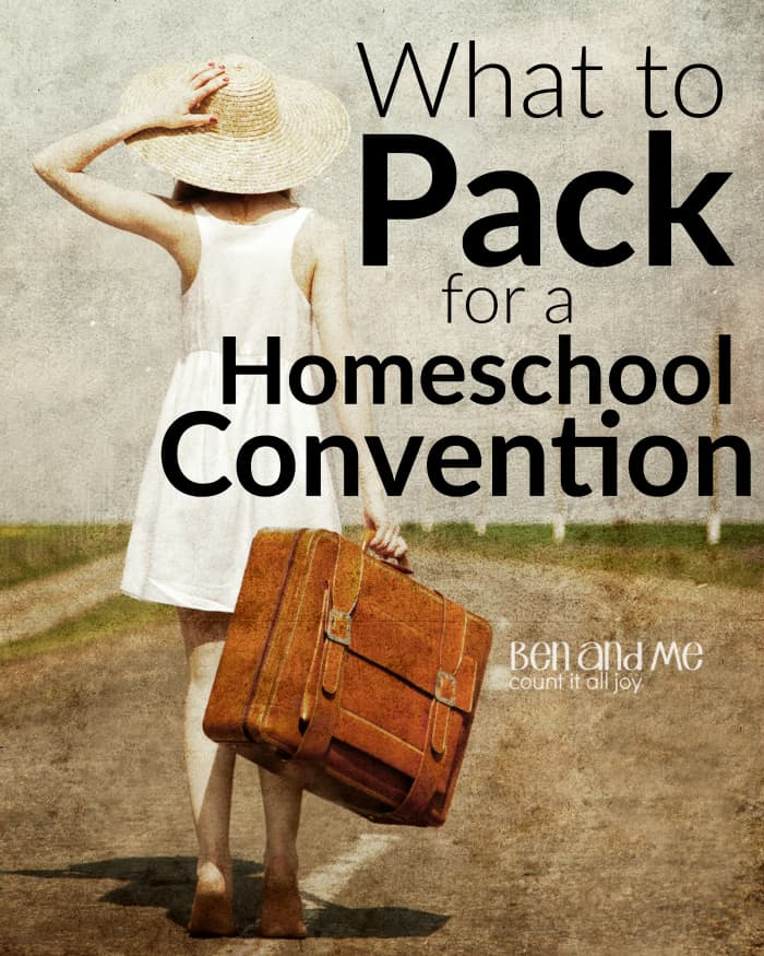 What to Pack for a Homeschool Convention