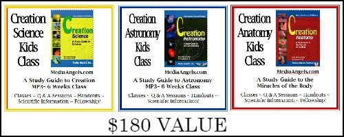 CREATION SCIENCE GIVEAWAY