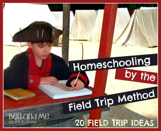 Homeschooling by the Field Trip Method