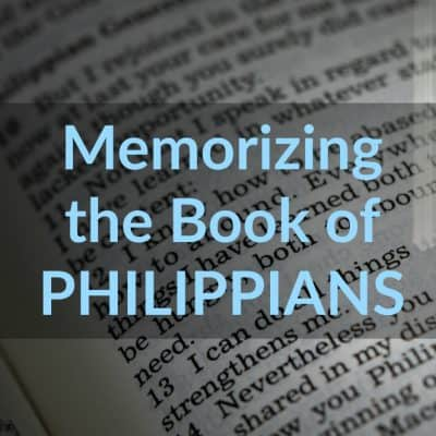 Hardcore Faith (Memorizing the Book of Philippians)