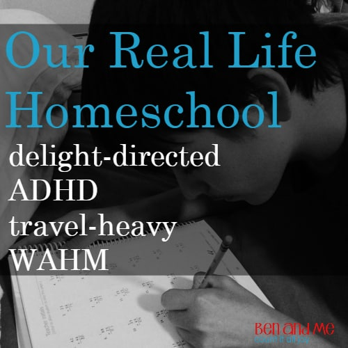Our Real Life Homeschool: Delight-directed, ADHD, Travel-Heavy, WAHM