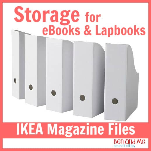IKEA Magazine Boxes