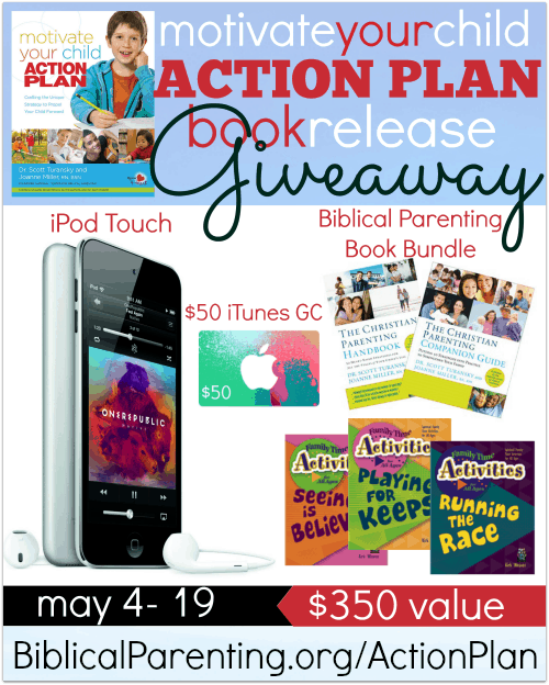 Motivate Your Child Action Plan Giveaway