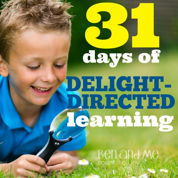 A series on homeschooling using a delight-directed learning method.  In this series, I hope to give you a glimpse into all the ways this method of learning can be incorporated into any homeschool.