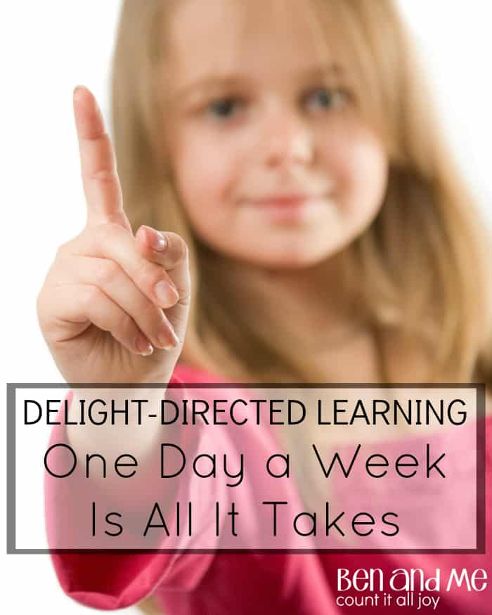 Delight-directed Learning One Day a Week Is All It Takes