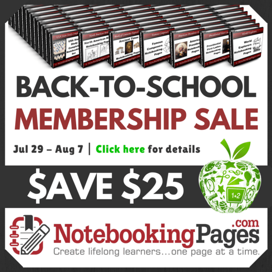 Back-to-School Membership Sale