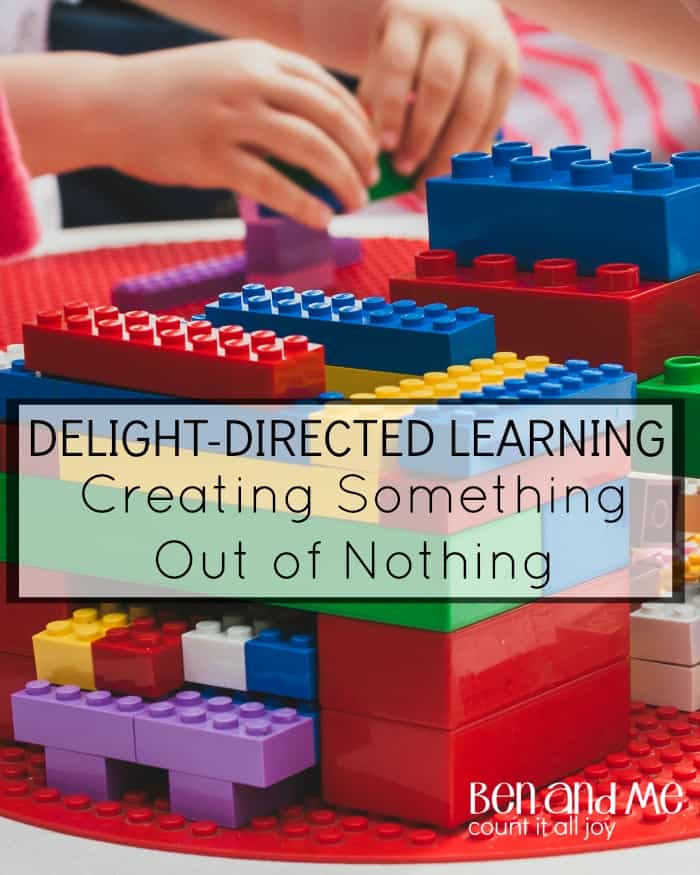 Delight-directed Learning Creating Something Out of Nothing