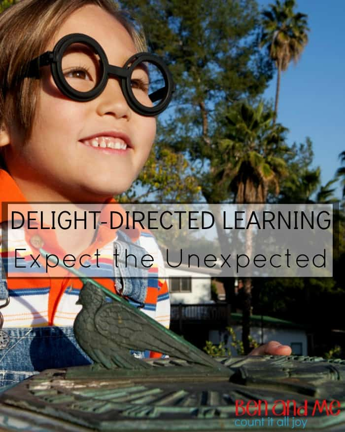 Delight-directed Learning Expect the Unexpected