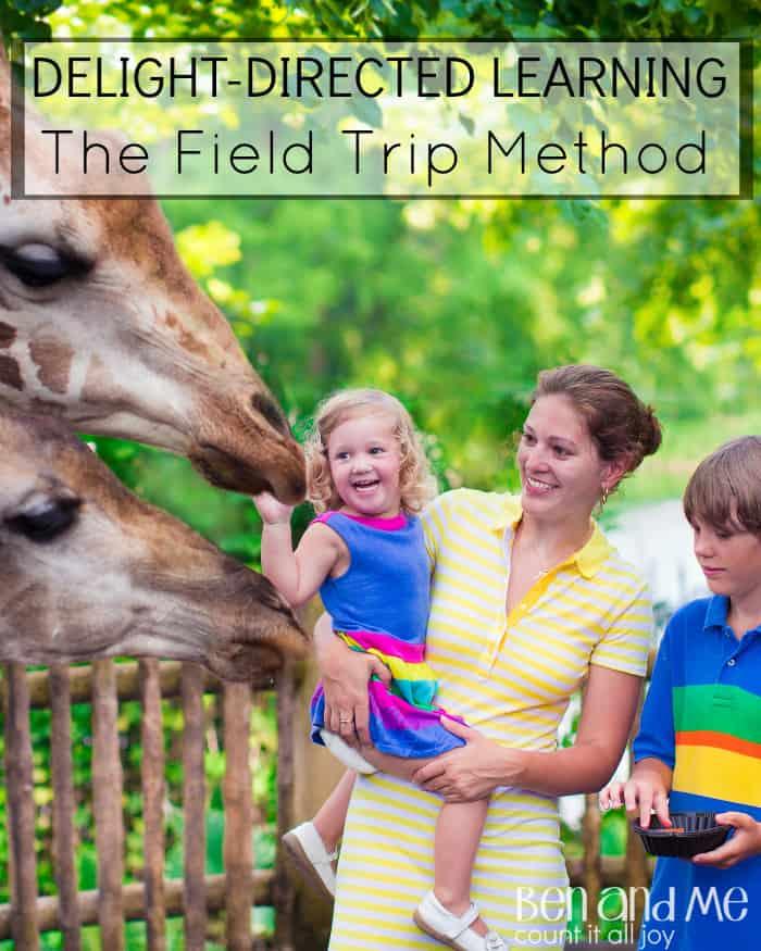 Delight-directed Learning: Homeschool field trips
