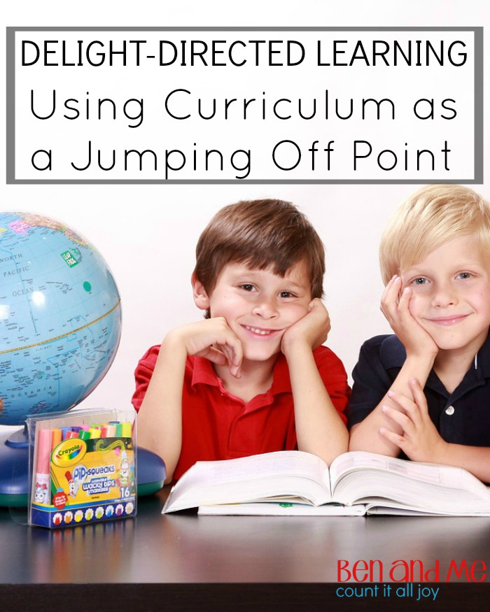 Delight-directed Learning Using Curriculum as a Jumping Off Point