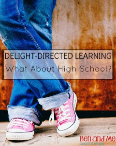 Delight-directed Learning What About High School