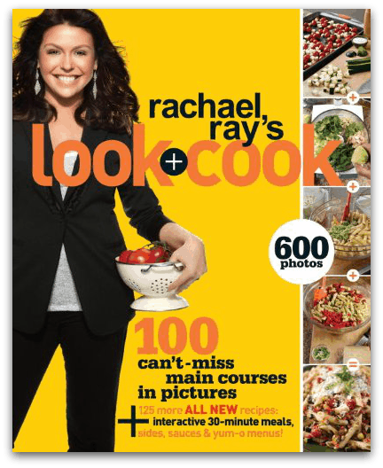 How to teach teens to cook with Rachael Ray's Cook + Look Cookbook