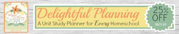 Save 25% on Delightful Planning in October