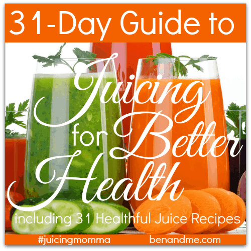 31 Day Guide to Juicing for Better Health 500