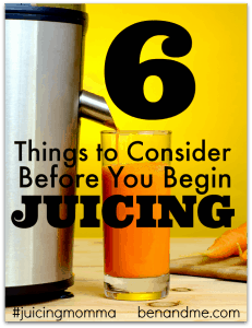 6 Things to Consider Before You Begin Juicing