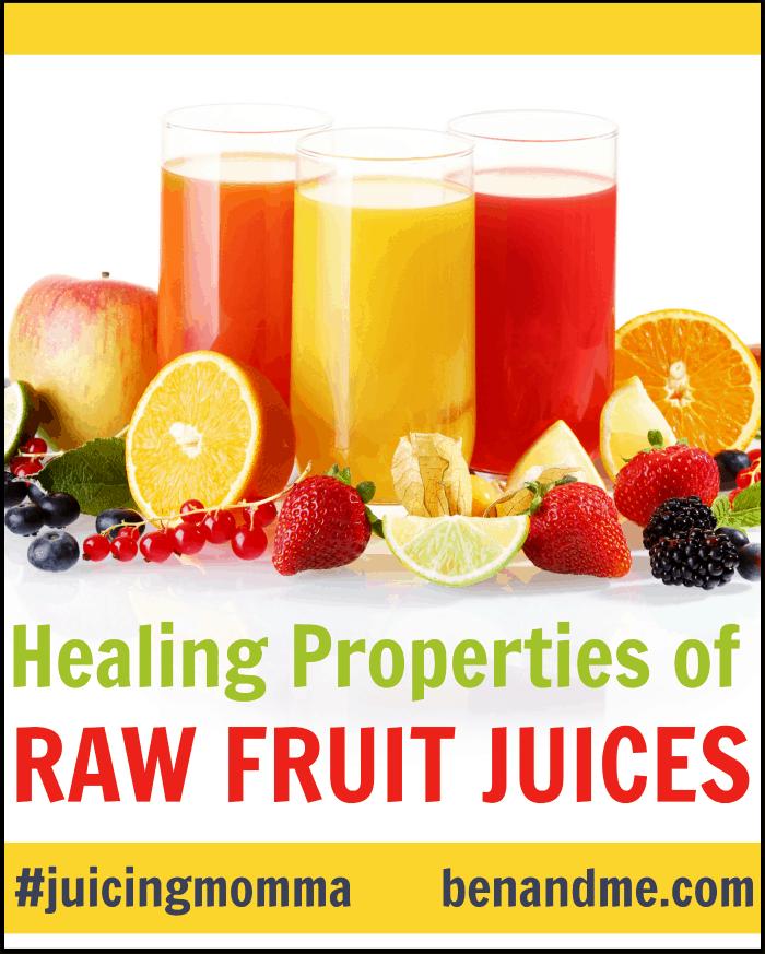 Healing Properties of Raw Fruit Juices + Minty Orange Juice Recipe