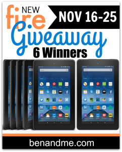 New Kindle Fire Giveaway – 6 Winners!