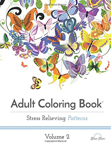 Stress Relieving Patterns 2 Adult Coloring Book