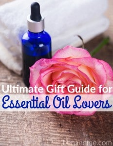 Ultimate Gift Guide for Essential Oil Lovers (and a giveaway!)