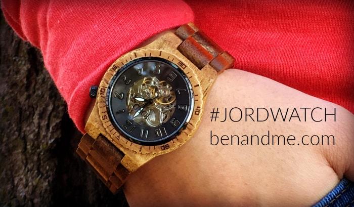 #JORDWATCH wood watch 1
