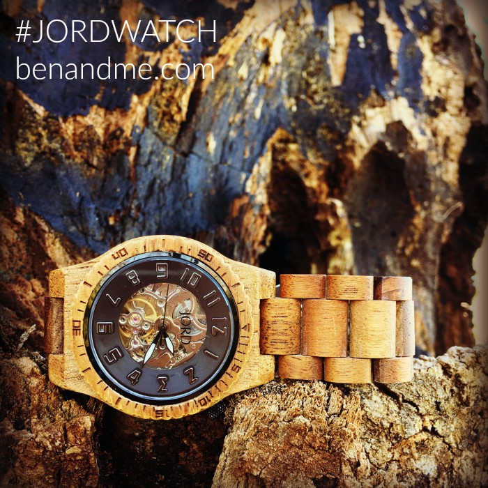Ben's favorite birthday gift came from JORD Wood Watches #JORDWATCH