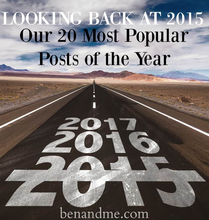 Looking Back at 2015 Our 20 Most Popular Posts of the Year