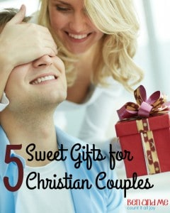 5 Sweet Gifts for Christian Couples (and an even sweeter giveaway)