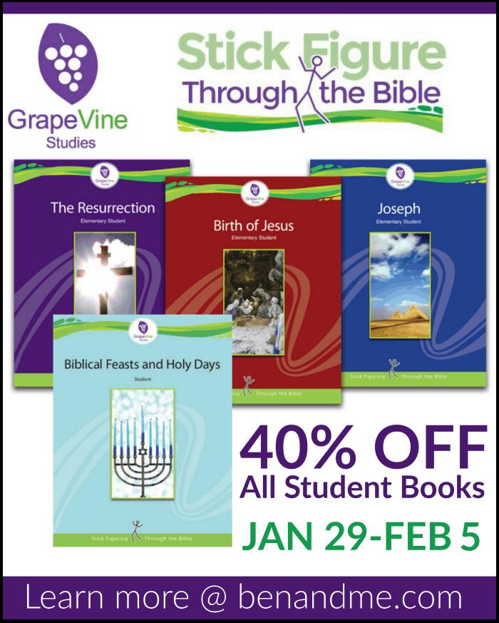 40% off Grapevine Studies