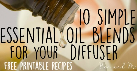 Essential Oils for Your Diffuser