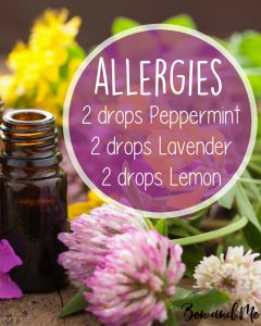 Allergy Essential Oil Blend for Your Diffuser