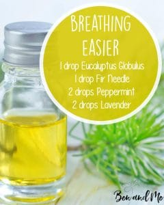 Breathing Easier Essential Oil Blend for Your Diffuser
