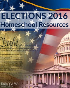 Elections 2016 Homeschool Resources (and a giveaway)