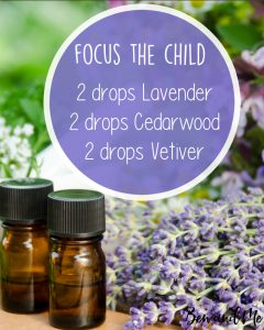 Focus the Child Essential Oil Blend for Your Diffuser