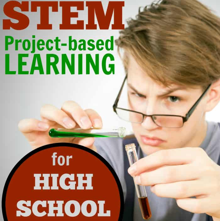 STEM Project-based Learning for Homeschool High School Credit