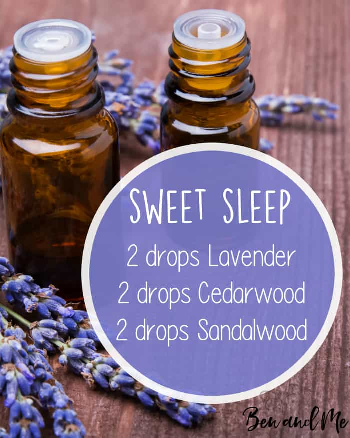 Sweet Sleep Essential Oil Blend for Your Diffuser