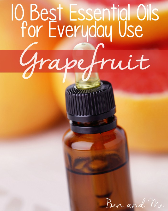 Best Essential Oils for Everyday Use -- Grapefruit Essential Oil