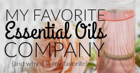 My favorite essential oils company facebook