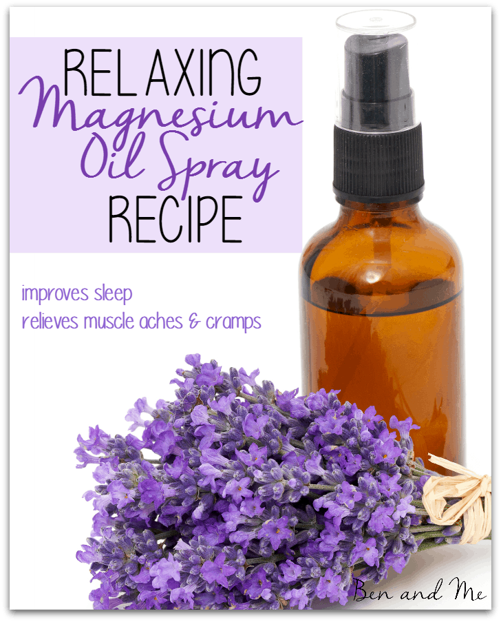 Relaxing Magnesium Oil Spray Recipe