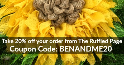 The Ruffled Page coupon code