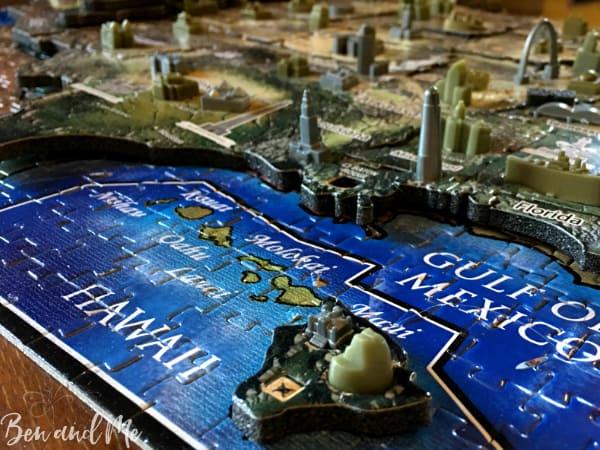 4D Cityscape Puzzle Base