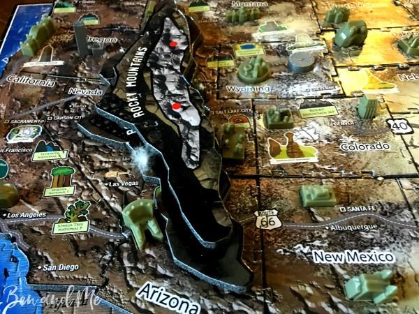 4D Cityscape Puzzle Rocky Mountains
