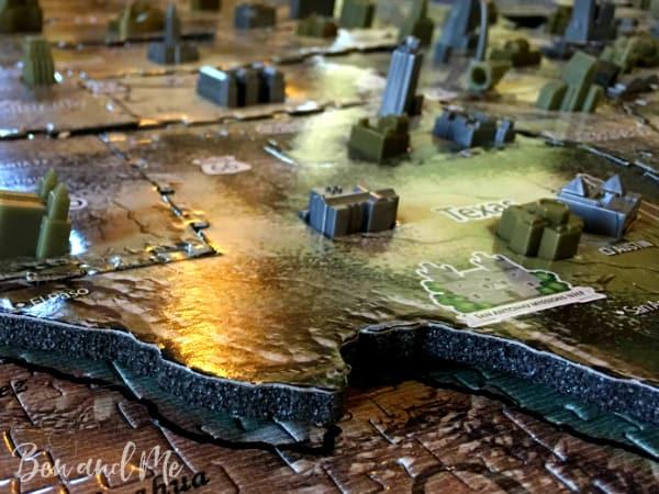 4D Cityscape Puzzle Texas